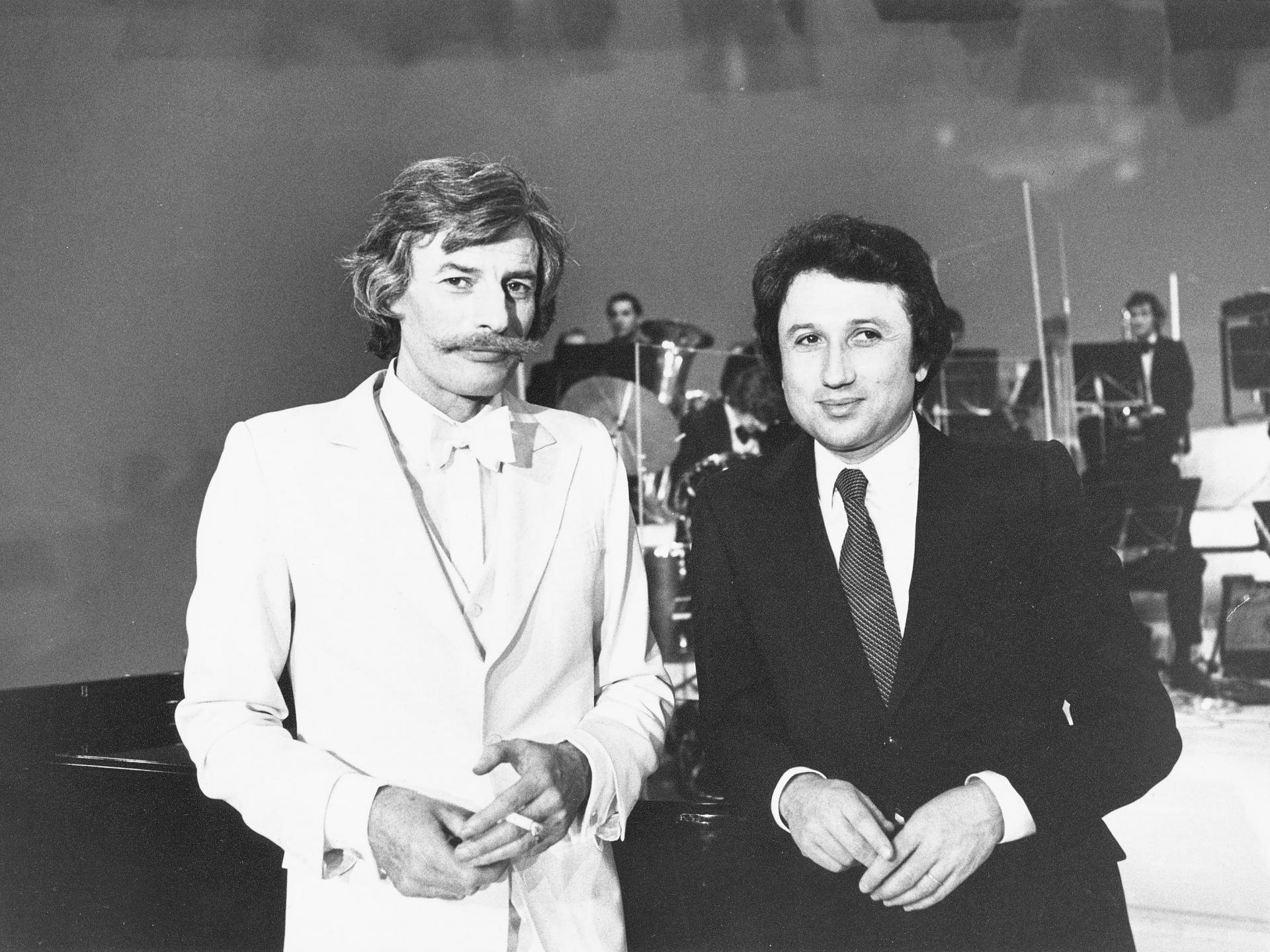 Jean Ferrat et Michel Drucker