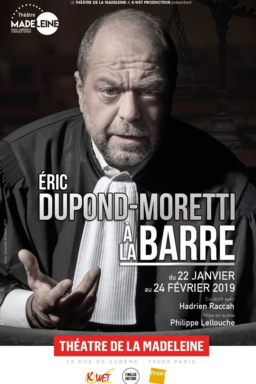 Eric Dupond-Moretti, bientôt en tournée