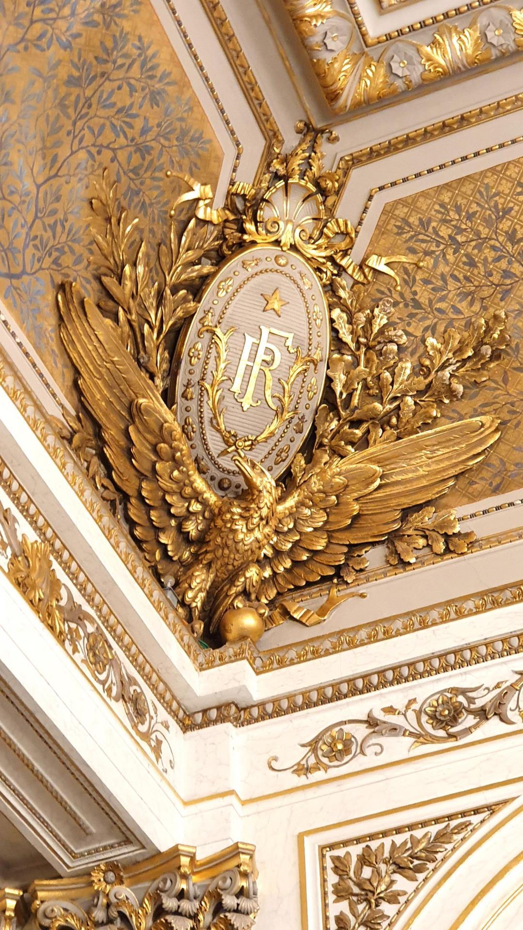 Salon Napoléon III - Détail.