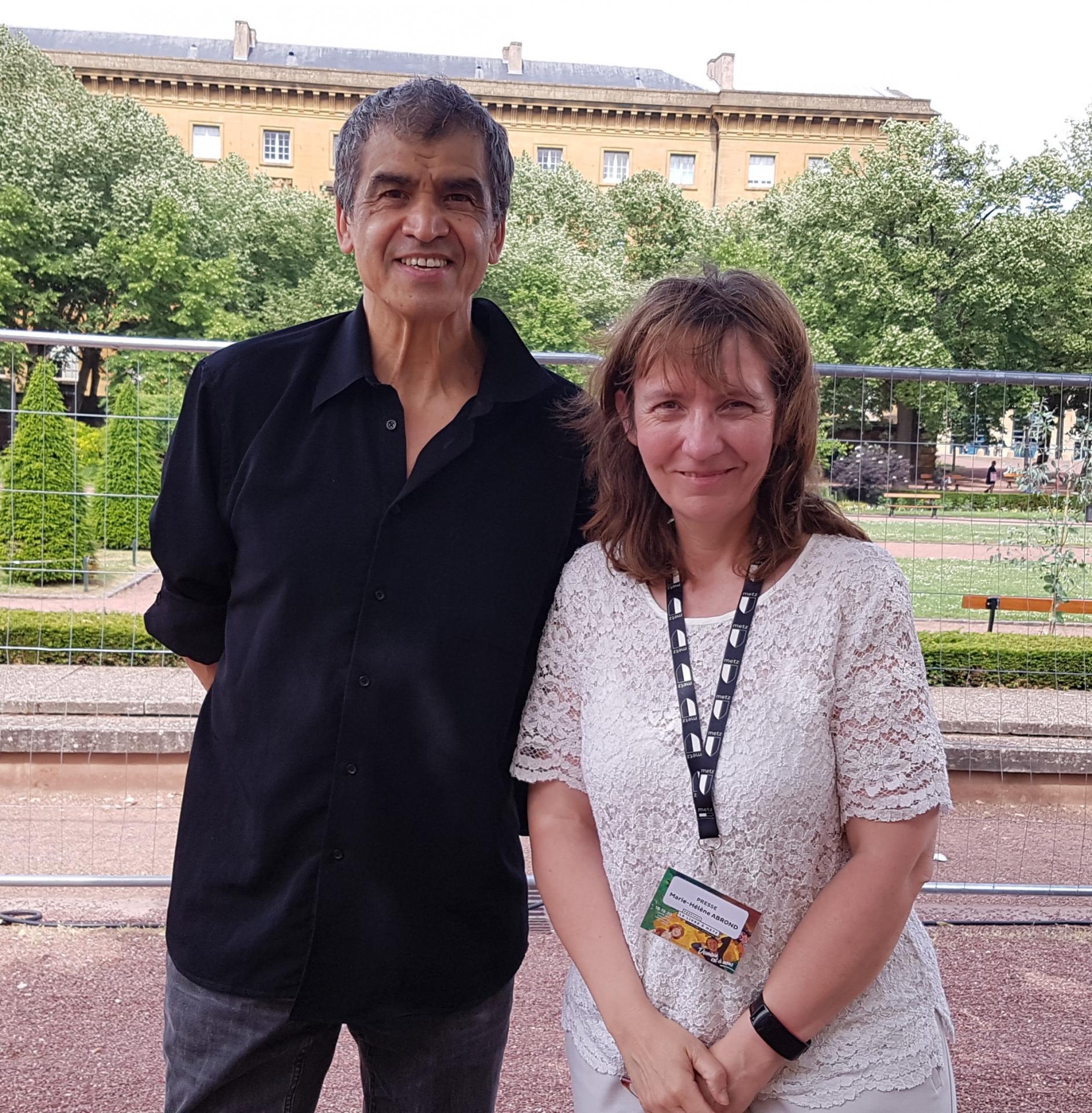 Rencontre avec Daniel Picouly au Festival