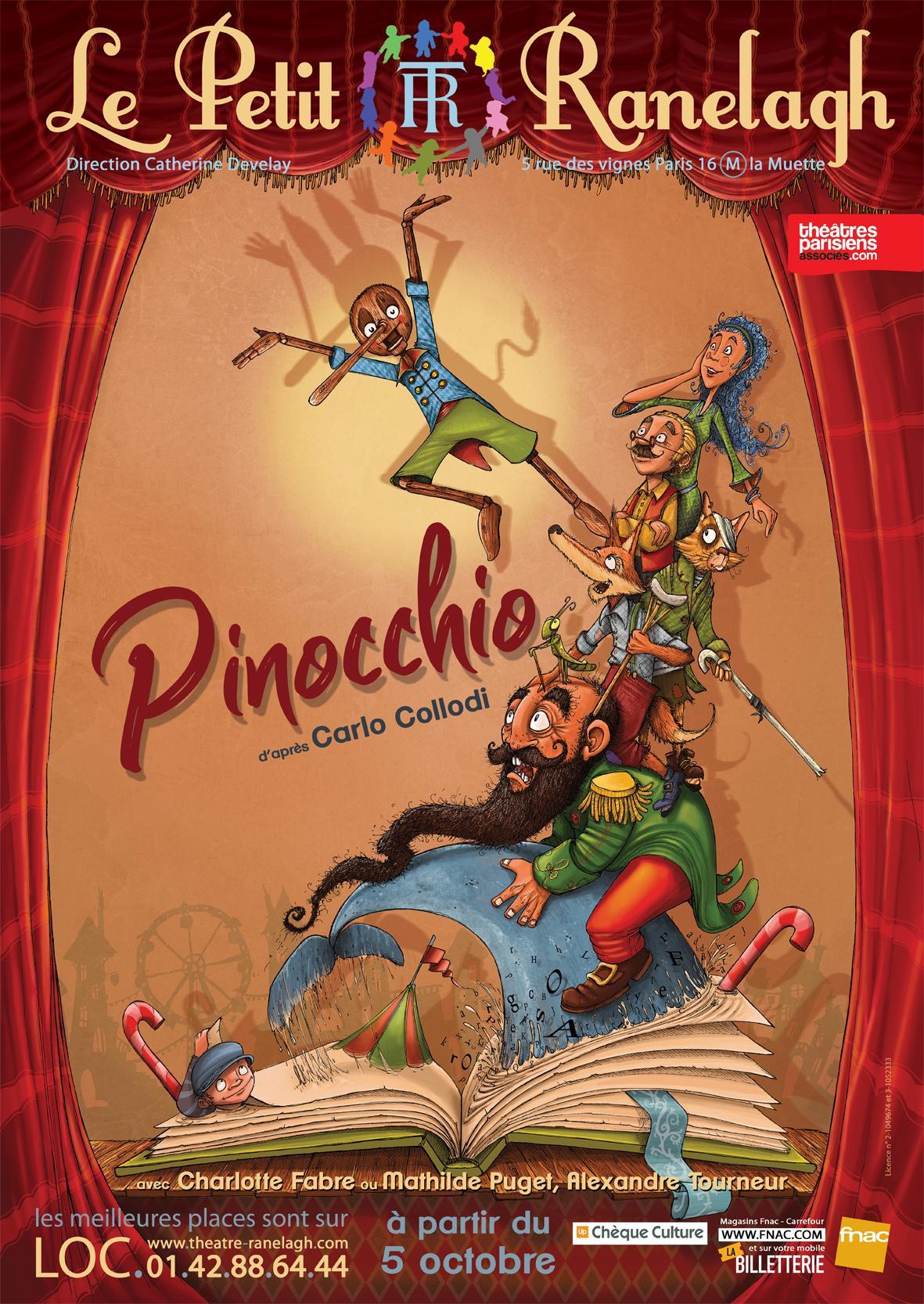 Bientôt, rendez-vous avec Pinocchio.