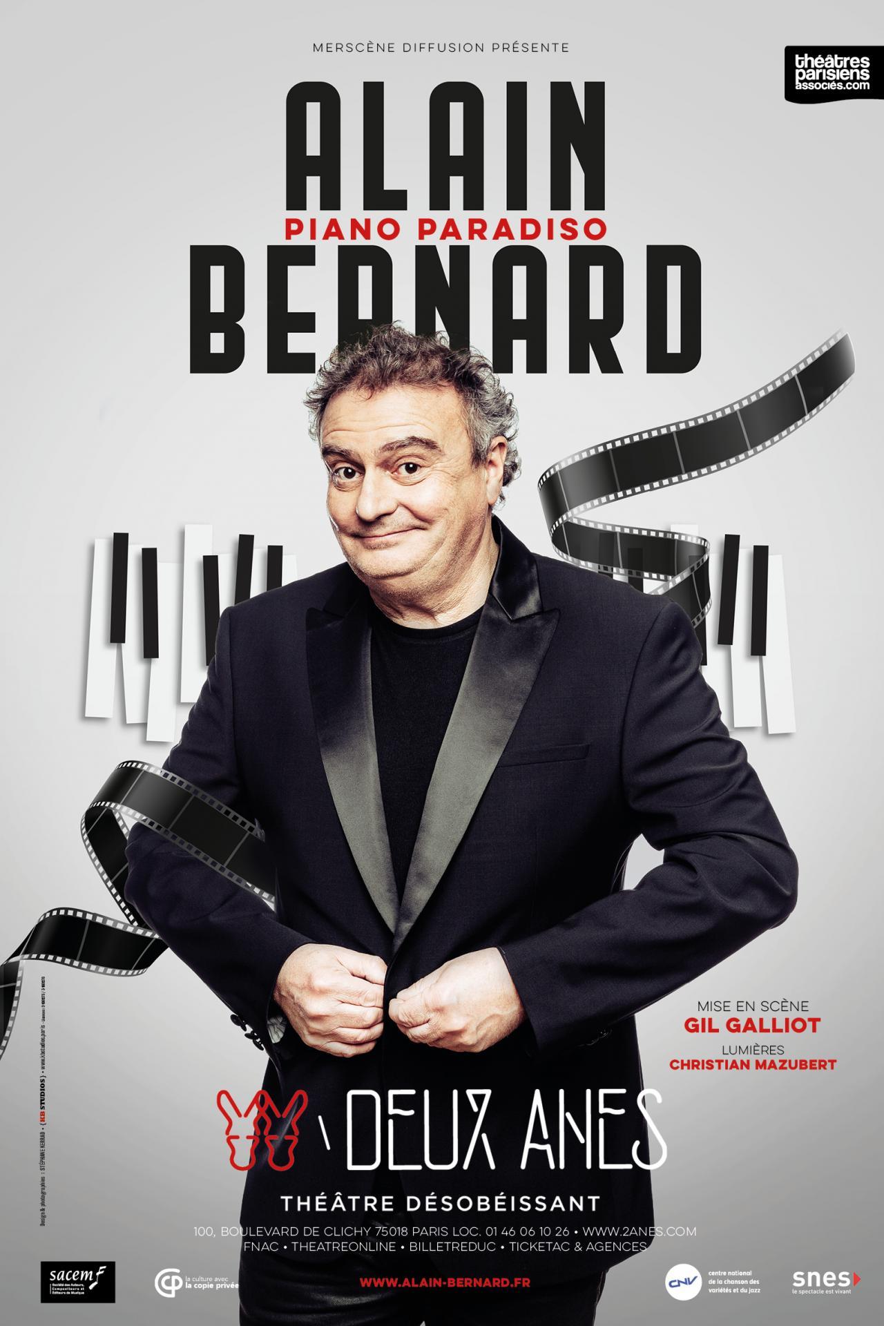 Rencontre avec Alain Bernard au Théâtre des Deux Anes