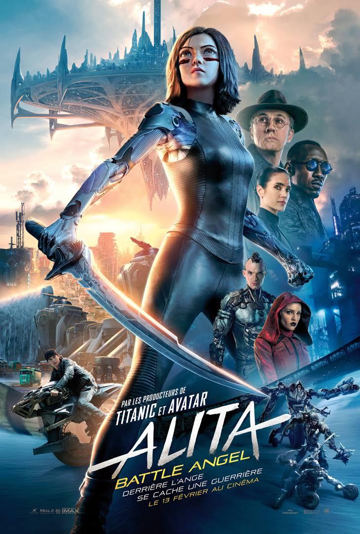 """Vu """"Alita"""", le nouveau long-métrage de James Cameron"""
