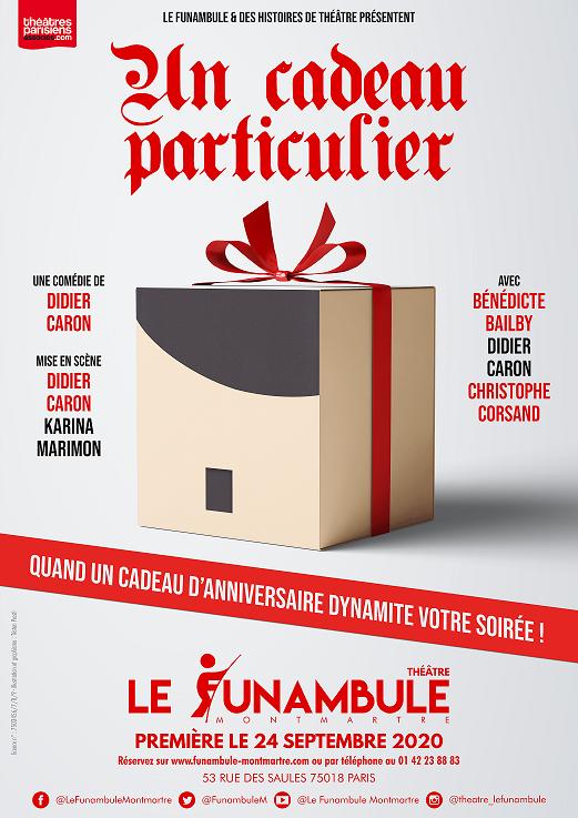 Le cadeau théâtre de Didier Caron !