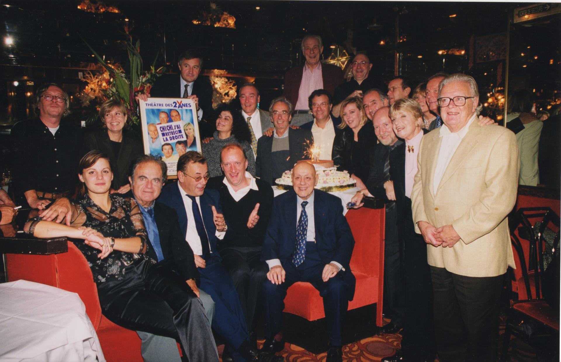 En 2000, tous présents pour le nouveau spectacle !