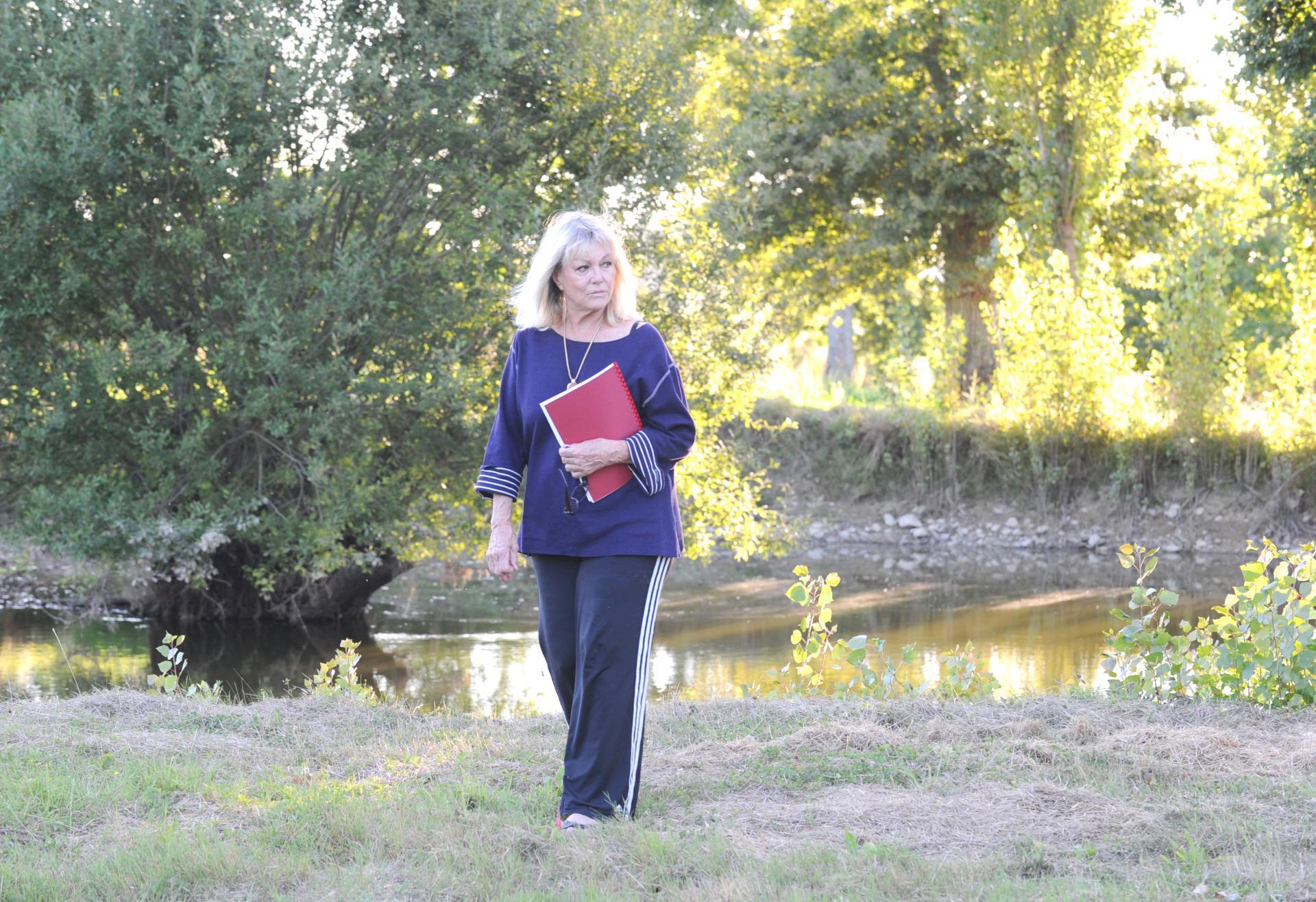Dans son havre de paix en Mayenne