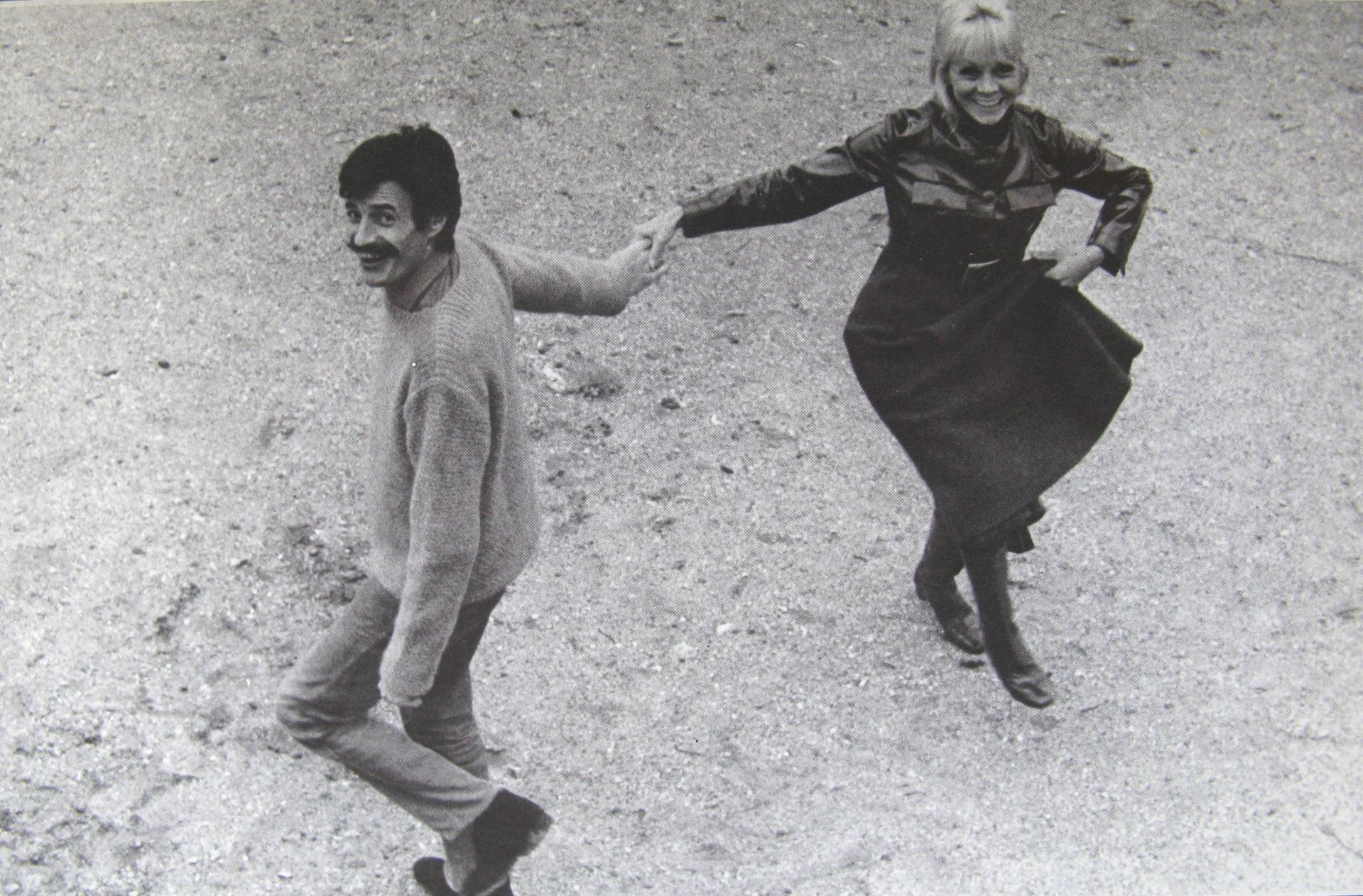 Jean Ferrat et Isabelle Aubret