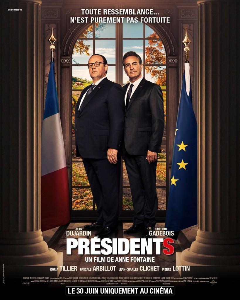 Jean Dujardin, président au cinéma !