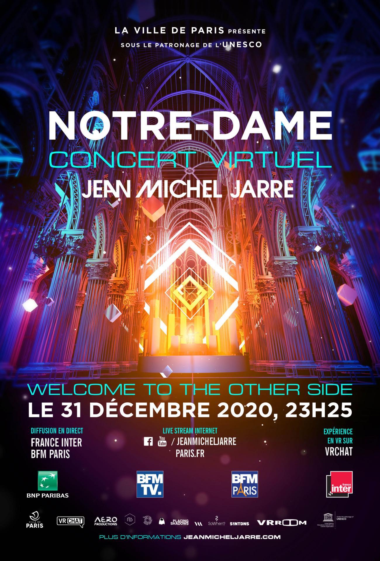 A noter votre rendez-vous avec Jean-Michel Jarre !