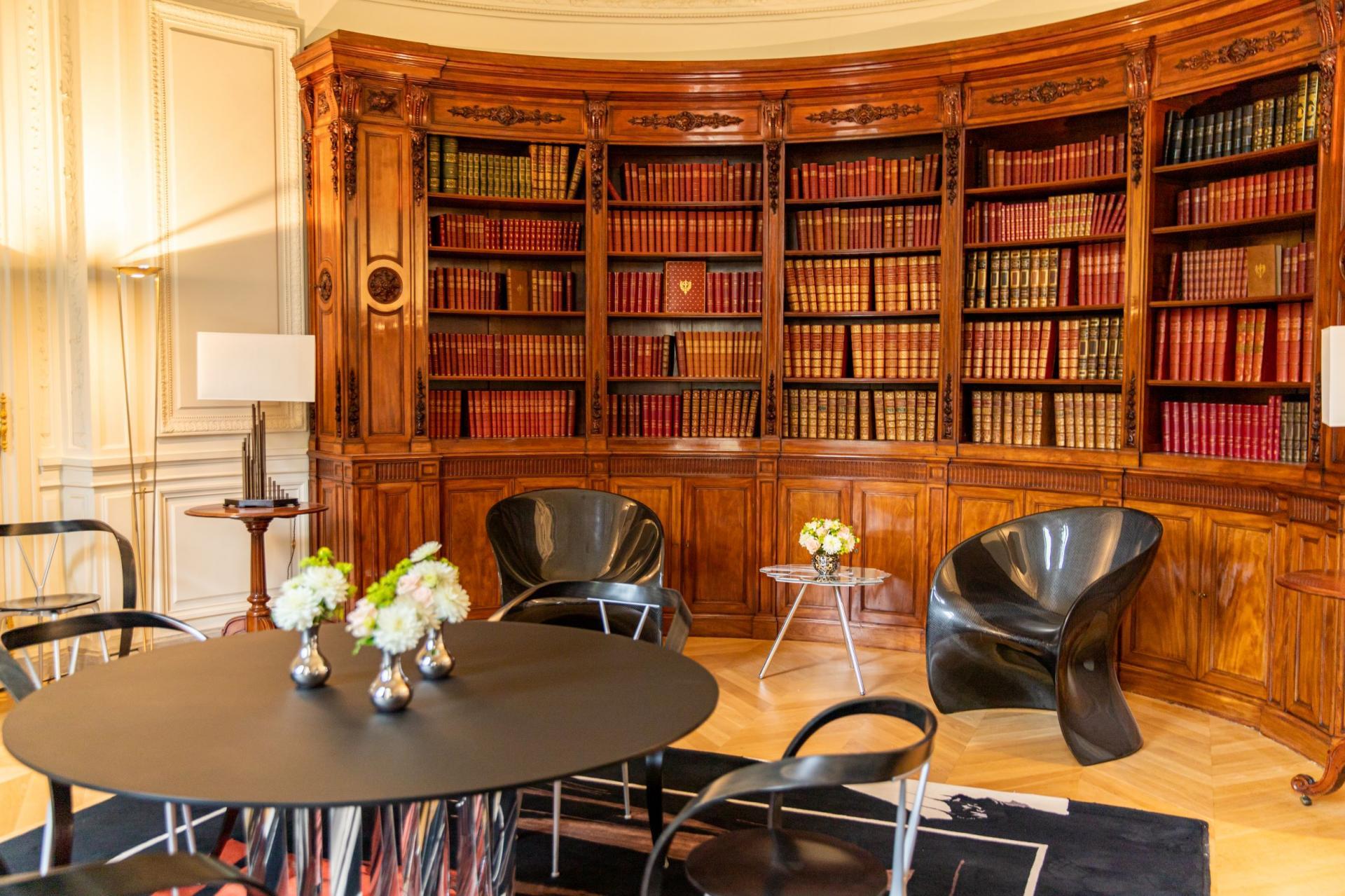 La bibliothèque Napoléon III.