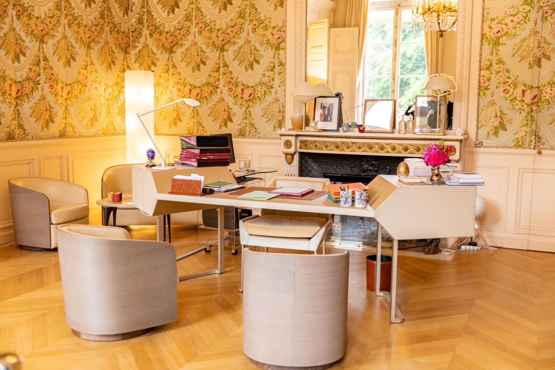 Le bureau de la Première Dame.