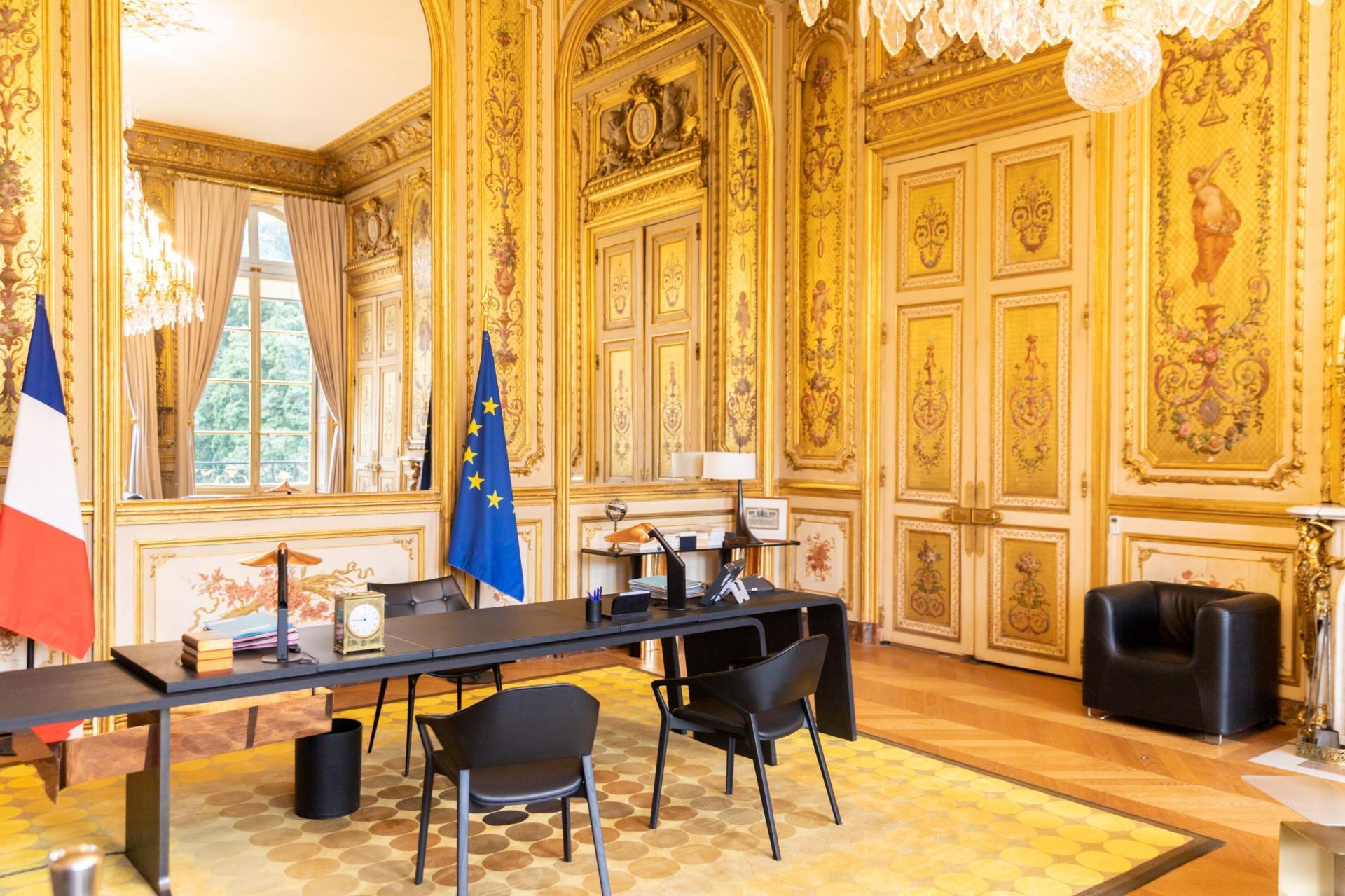 Le bureau du Chef de l'Etat.