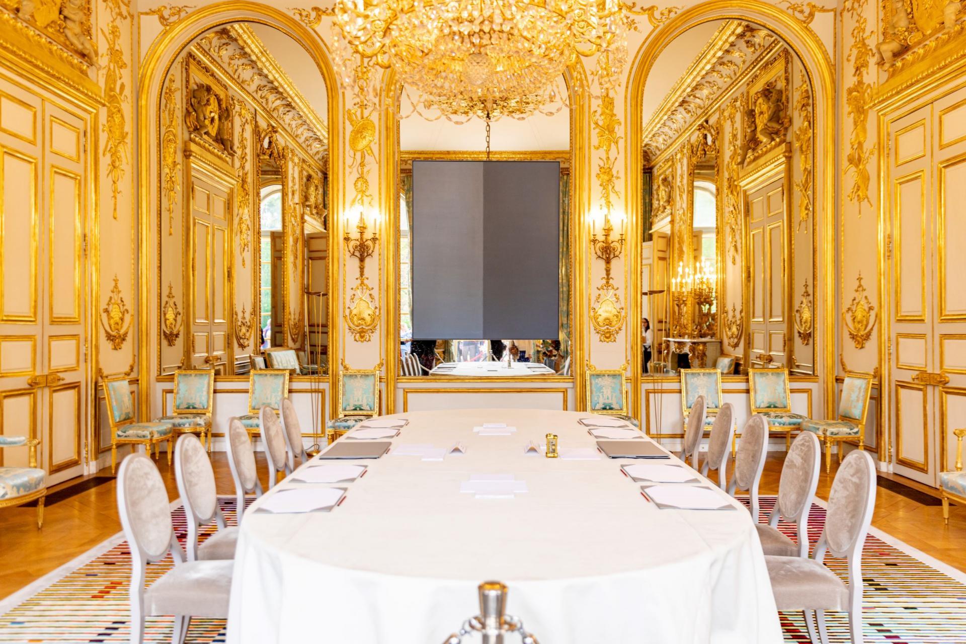 Le Salon des ambassadeurs.
