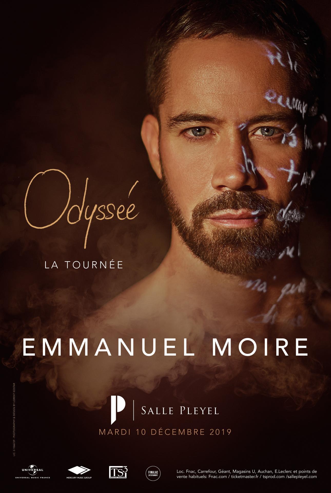 Le nouvel album d'Emmanuel Moire, à écouter sans modération