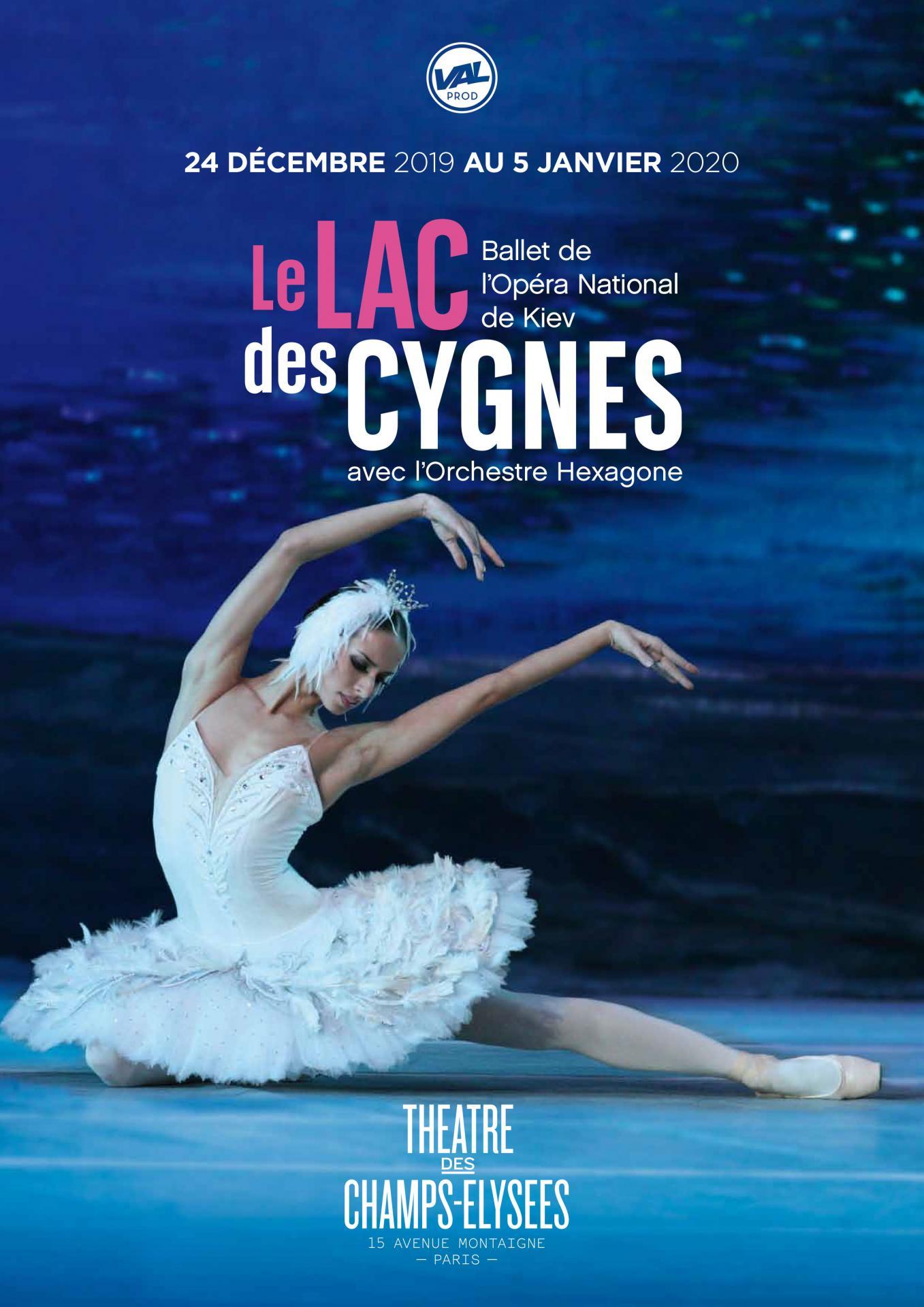 Rendez-vous au Théâtre des Champs-Elysées !