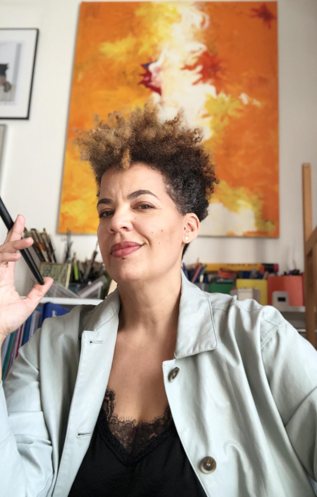 A découvrir, Maité Leon, une artiste dans l'âme