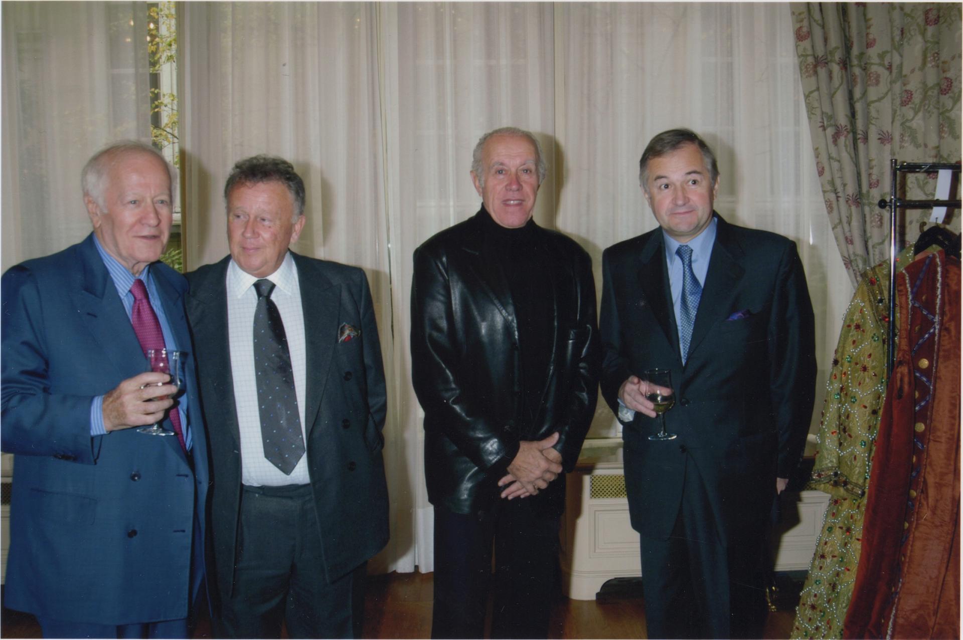 J. Chancel, P. Bouvard, J. Balutin avec J. Mailhot