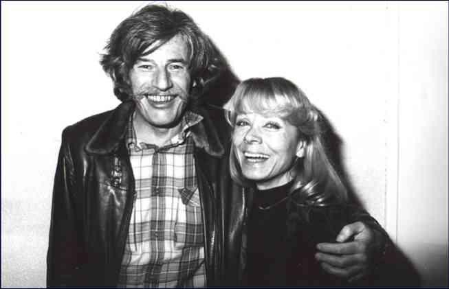 Isabelle Aubret et Jean Ferrat, une complicité artistique et amicale.