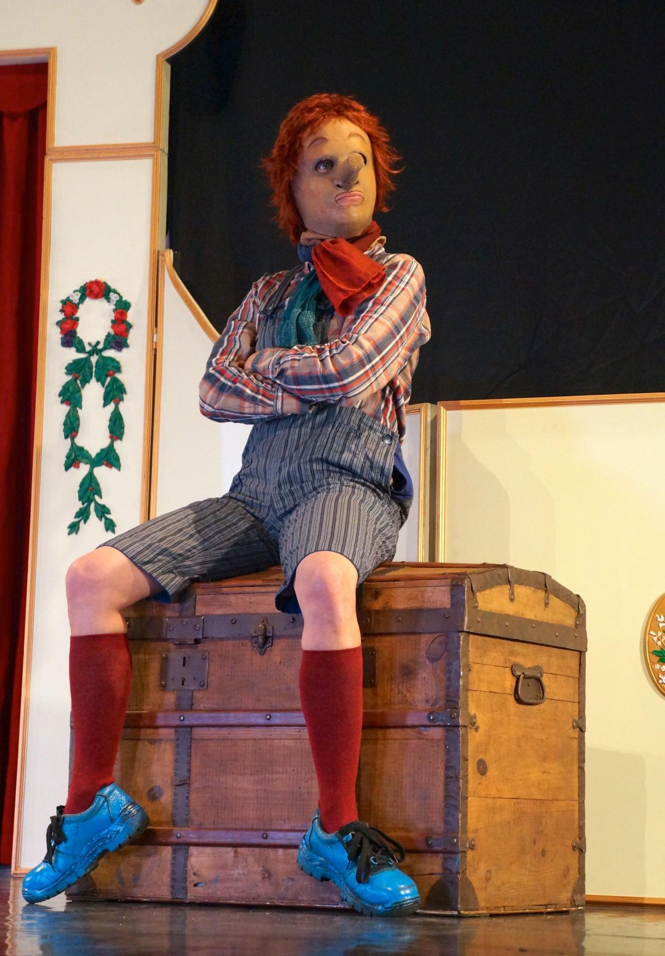 Retrouvez Pinocchio au Théâtre du Lucernaire !