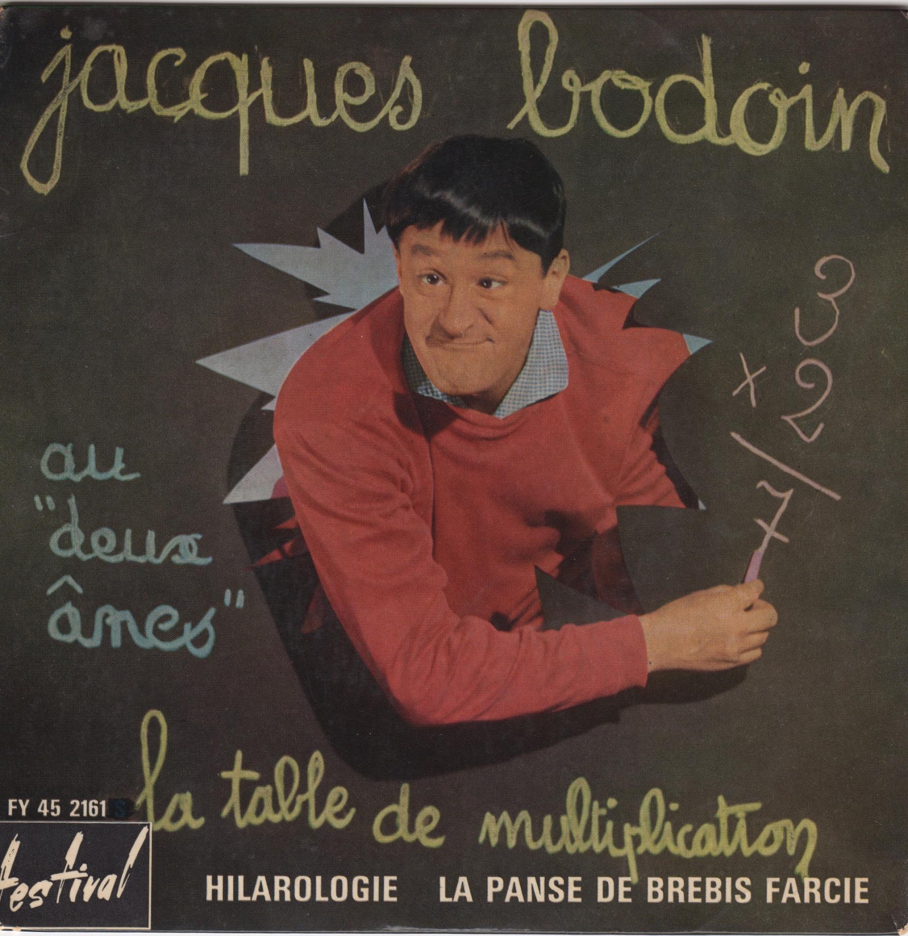 Hommage à Jacques Bodoin, disparu le mois dernier