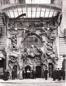 Façade du théâtre au début du XXème siècle